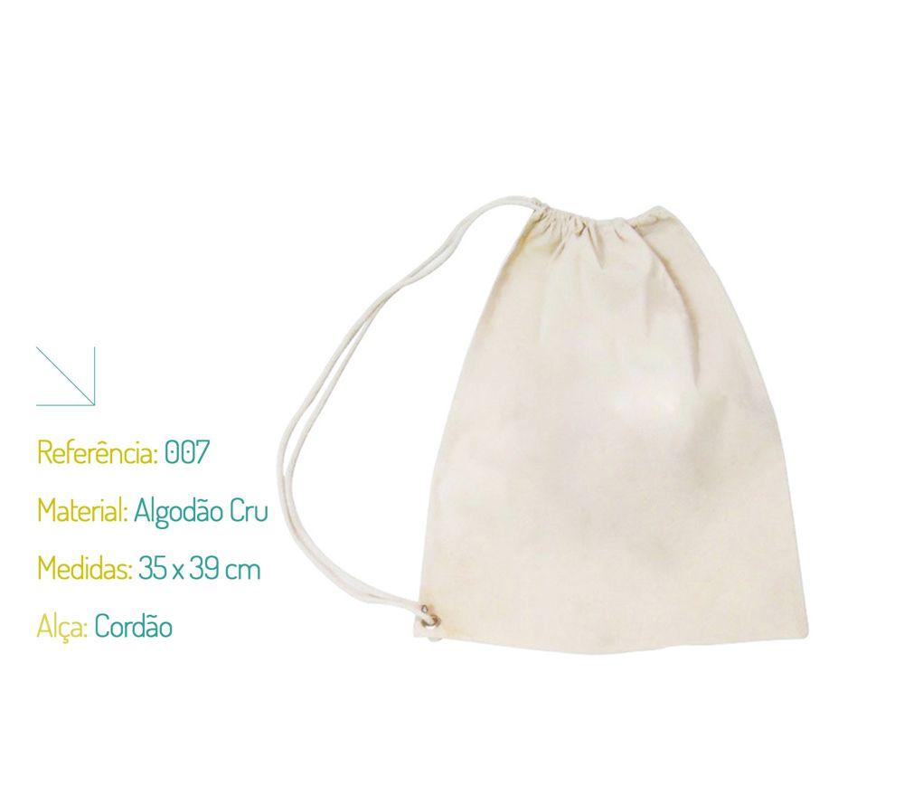 Bolsa De Tecido De Algodão Cru : Saquinho ecol?gico algod?o cru na sacola ecobag