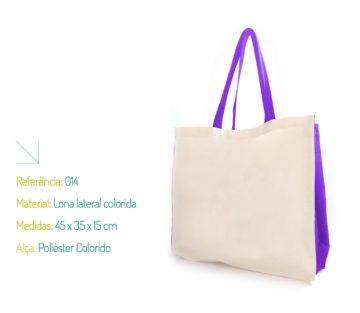 Ecobag Colorida - Sacola Ecológica Colorida