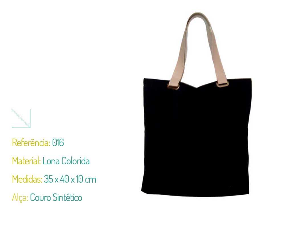 3b35e5b13 Bolsa Ecológica Lona Colorida - Ecobag | Na Sacola