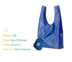 Bolsa Ecológica Nylon 70 - Ecobag   Na Sacola