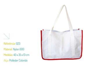 Bolsa Ecológica Nylon 600 e Poliéster Colorido - Ecobag | Na Sacola