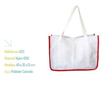 Bolsa Ecológica Nylon 600 e Poliéster Colorido - Ecobag   Na Sacola
