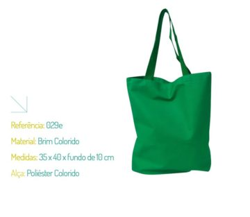 Sacolas Ecobags Coloridas - Sacolas Ecológicas Coloridas