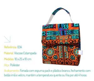 Bolsa Ecológica Forrada com Espuma pack - Ecobag | Na Sacola